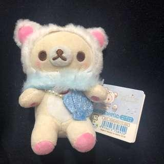 🚚 Korilakkuma soft toy keychain