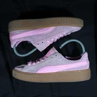 Authentic Puma Gumsole Platform Pink