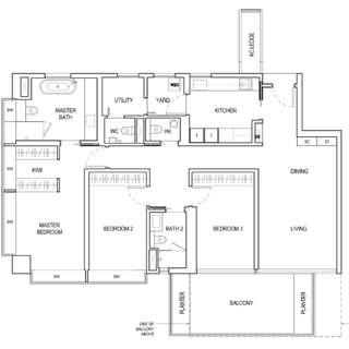 ⭐ 3BR-BOULEVARD 88 (Singapore Luxury Development @ District 10) ⭐