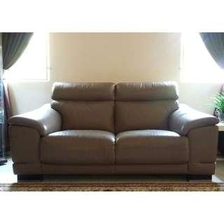 Rozel Leather Sofa 3 + 2 seater