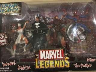 MIB Toy Biz Marvel Legends Urban Legends Box Gift  Set