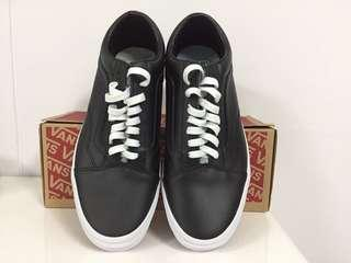 🚚 Vans Old Skool Black Leather (Brand New)
