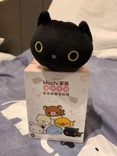 San-X Mochi家族靴下貓小黑貓小型收納袋 現貨