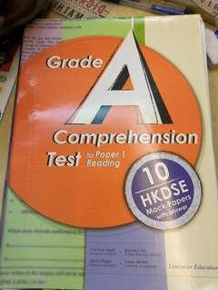 英文DSE Reading Grade A Comprehension Test