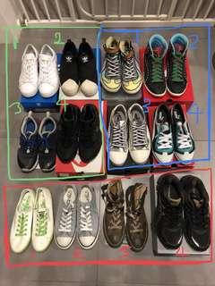 Women's NIKE, ADIDAS, PUMA, ASICS, CONVERSE Sneakers