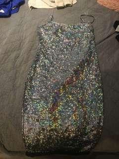 Fashion nova sparkle dress