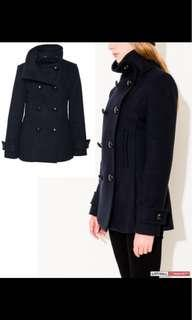 Aritzia babaton Howell coat size xs navy blue very good condition