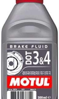 Motul Brake Fluid Dot 3 Dot 4