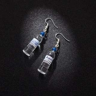 (po) bottled earrings