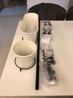IKEA fintorp series organiser set