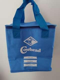 Cow Head Milk Blue Cooler Bag