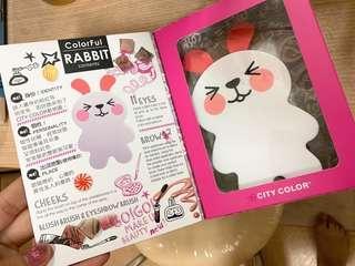 CITYCOLOR 俏皮兔彩妝盒 全新