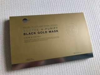 Skin Inc Black Gold Mask - Brand New in Box (6 pieces)