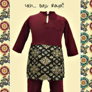 #BABY JUMPER KURUNG # kurong #samping #songket #songkok #kids #boys #hari raya #Aidilfitri #jubah #romper #cuteclozet