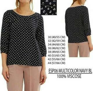 Esprit polka blouse