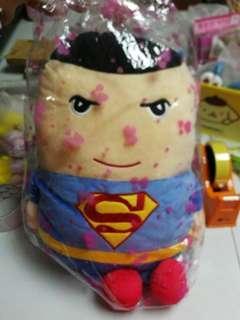 🚚 superman soft toy