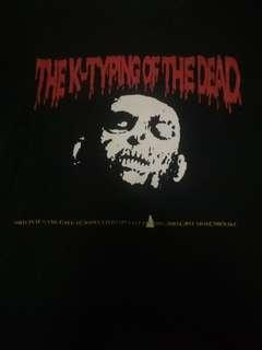 Sega game shirt, the typing of the dead
