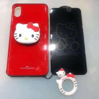 Hello Kitty 電話機殼套裝(iPhone only)