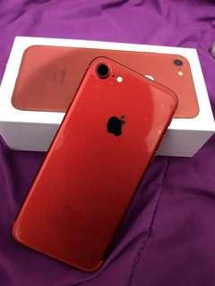 Jual Cepat! iPhone 7 Red 128GB