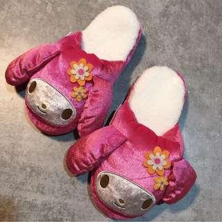 Sario melody Fluffy slippers