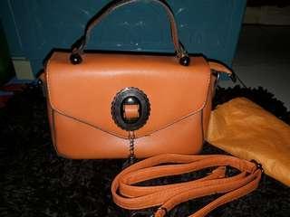 Vintage orange bag