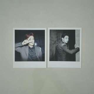 EXO OVERDOSE OFFICIAL POLAROID (2PCS)