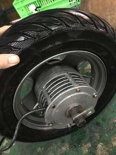 Hub ( new tire ) and control 650w jindan QQ-1
