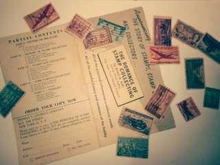 Very Rare USA Vintage Stamps
