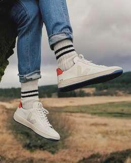 全新限量真品 法國Veja V-12 Bastille Tri-Color Sneakers