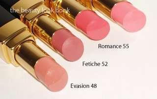 Chanel Rouge Coco Shine Lipstick Evasion 48