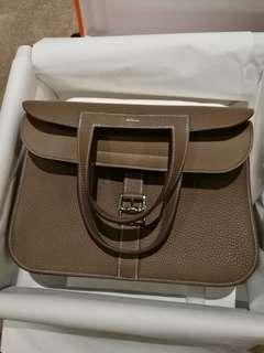 Brand New Hermes Hazlan 31cm Etoupe