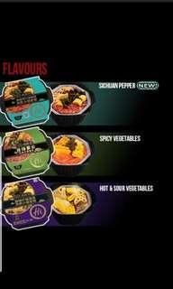 Haidilao or Hai di lao instant 15 mins hotpot meal