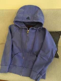 Small TNA periwinkle hoodie