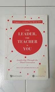 The Leader, the teacher & you
