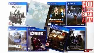 PS4 GAMES WOW PUTRAJAYA