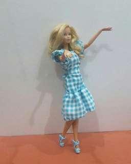 Barbie Checkered Dress