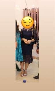 Brocade Dress/ Dress Brukat