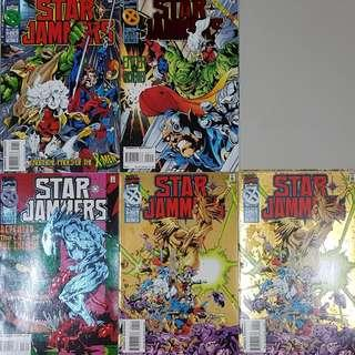 X-Men Solo - Starjammers (1995) -  4-comics issue miniseries
