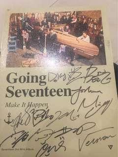 Seventeen Signed Promo Album