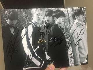 B1A4 Signed Promo Album