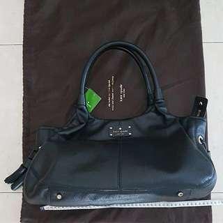 NWT Kate Spade Stevie Wkru2172 Black Handbag Bag