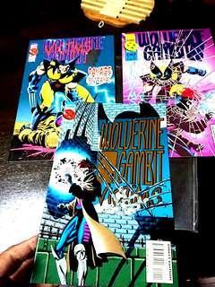 Wolverine/Gambit #1,2&3(of 4)