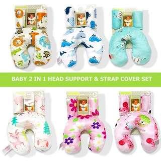 Baby Safety Headrest and Neck Supporting Pillow