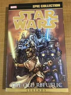 🚚 Star Wars Knights of the Old Republic Epic Collection vol 1