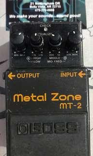Boss MT-2 Death Metal mod by Modest Mike's