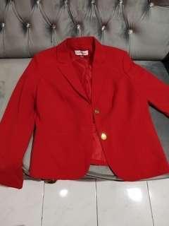 Blazer Merah  Calvin klien