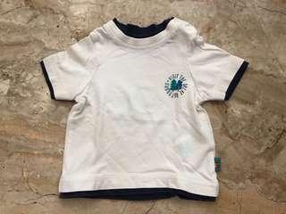 Kaos mothercare putih