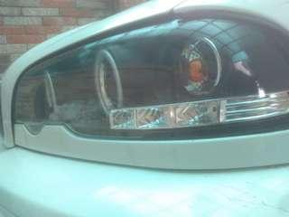 2000年E46前期 魚眼光圈大燈含Hid 需拿原廠魚眼燈交換