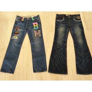 Nice Blue Jeans (Waist 28 & 30)