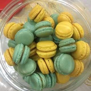 Baby mac cookies